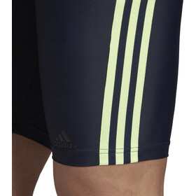 adidas Fitness 3-Stripes Jammer-uimahousut Miehet, legend ink/hi-res yellow